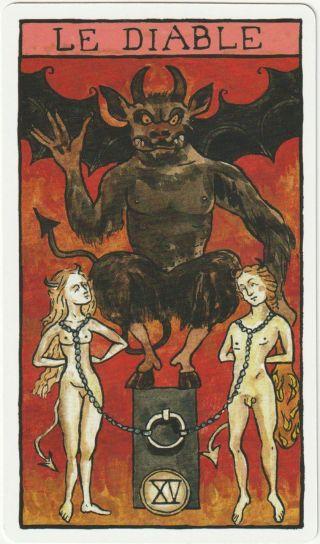 tarot psychologique diable